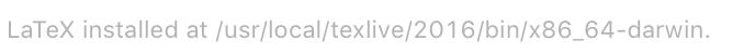 Texpad配置TexLive